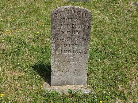 DUNCAN, CATHARINE - Anderson County, Tennessee | CATHARINE DUNCAN - Tennessee Gravestone Photos