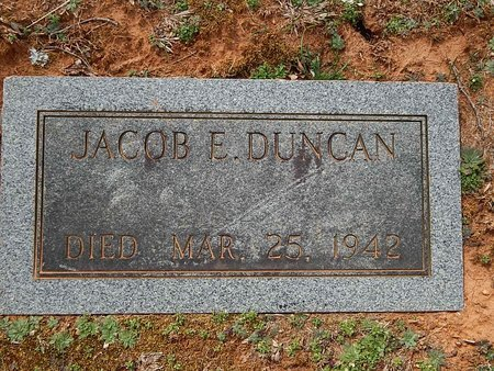 DUNCAN, JACOB E - Anderson County, Tennessee | JACOB E DUNCAN - Tennessee Gravestone Photos