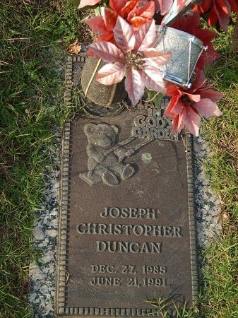 DUNCAN, JOSEPH CHRISTOPHER - Anderson County, Tennessee | JOSEPH CHRISTOPHER DUNCAN - Tennessee Gravestone Photos