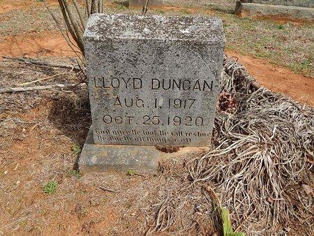 DUNCAN, LLOYD - Anderson County, Tennessee   LLOYD DUNCAN - Tennessee Gravestone Photos