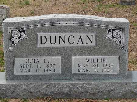DUNCAN, OZIA L - Anderson County, Tennessee | OZIA L DUNCAN - Tennessee Gravestone Photos