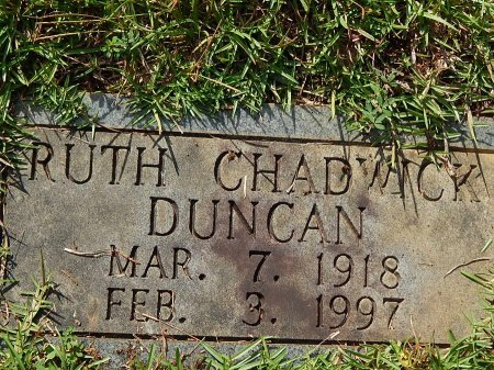 DUNCAN, RUTH - Anderson County, Tennessee | RUTH DUNCAN - Tennessee Gravestone Photos