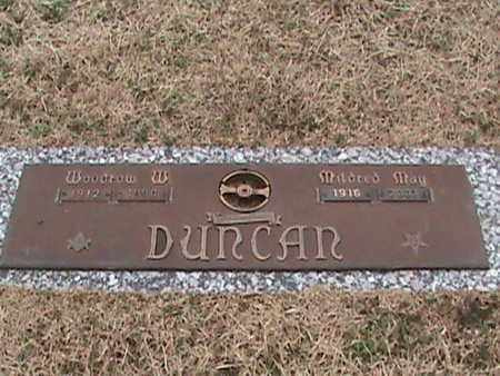DUNCAN, WOODROW - Anderson County, Tennessee | WOODROW DUNCAN - Tennessee Gravestone Photos