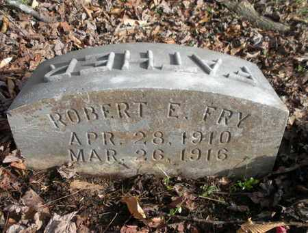 FRY, ROBERT E - Anderson County, Tennessee | ROBERT E FRY - Tennessee Gravestone Photos