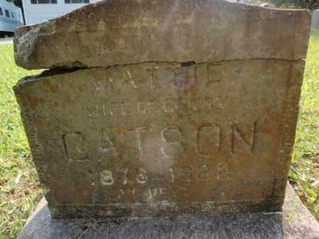 GATSON, MATTIE - Anderson County, Tennessee | MATTIE GATSON - Tennessee Gravestone Photos
