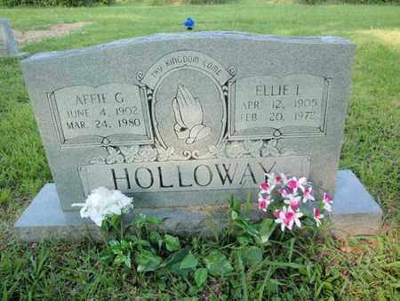 HOLLOWAY, ELLIE L - Anderson County, Tennessee | ELLIE L HOLLOWAY - Tennessee Gravestone Photos