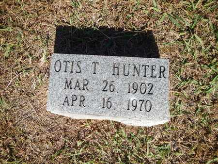 HUNTER, OTIS T - Anderson County, Tennessee | OTIS T HUNTER - Tennessee Gravestone Photos