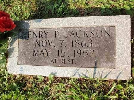 JACKSON, HENRY P - Anderson County, Tennessee | HENRY P JACKSON - Tennessee Gravestone Photos