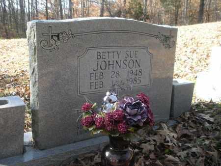 JOHNSON, BETTY SUE - Anderson County, Tennessee | BETTY SUE JOHNSON - Tennessee Gravestone Photos
