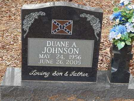 JOHNSON, DUANE A - Anderson County, Tennessee | DUANE A JOHNSON - Tennessee Gravestone Photos