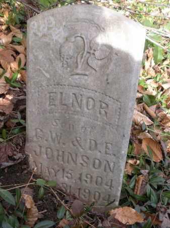 JOHNSON, ELNOR - Anderson County, Tennessee   ELNOR JOHNSON - Tennessee Gravestone Photos