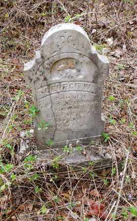 JOHNSON, GEORGE W - Anderson County, Tennessee | GEORGE W JOHNSON - Tennessee Gravestone Photos