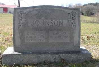 JOHNSON, EARL D - Anderson County, Tennessee | EARL D JOHNSON - Tennessee Gravestone Photos