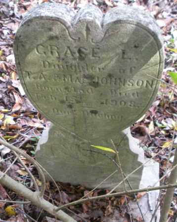 JOHNSON, GRACE L - Anderson County, Tennessee | GRACE L JOHNSON - Tennessee Gravestone Photos