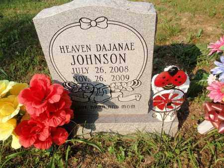 JOHNSON, HEAVEN DAJANAE - Anderson County, Tennessee | HEAVEN DAJANAE JOHNSON - Tennessee Gravestone Photos
