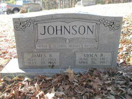 JOHNSON, JAMES B - Anderson County, Tennessee | JAMES B JOHNSON - Tennessee Gravestone Photos