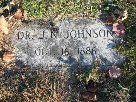JOHNSON, J N (DOCTOR) - Anderson County, Tennessee | J N (DOCTOR) JOHNSON - Tennessee Gravestone Photos