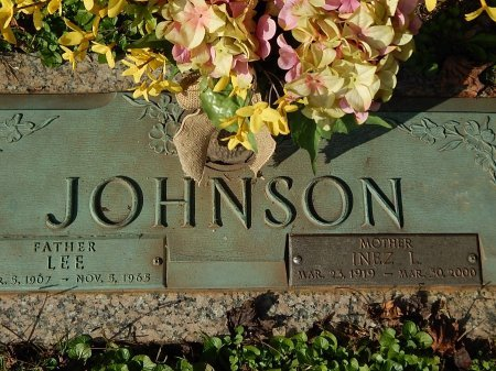 JOHNSON, LEE - Anderson County, Tennessee | LEE JOHNSON - Tennessee Gravestone Photos