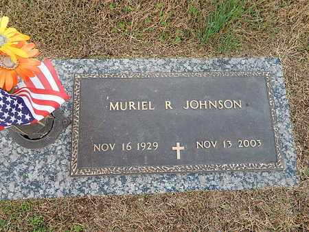JOHNSON, MURIEL R - Anderson County, Tennessee | MURIEL R JOHNSON - Tennessee Gravestone Photos
