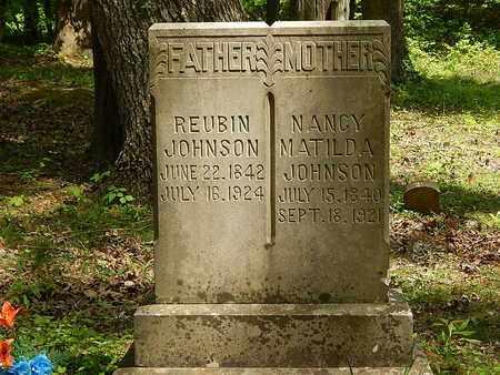 JOHNSON, NANCY MATILDA - Anderson County, Tennessee | NANCY MATILDA JOHNSON - Tennessee Gravestone Photos
