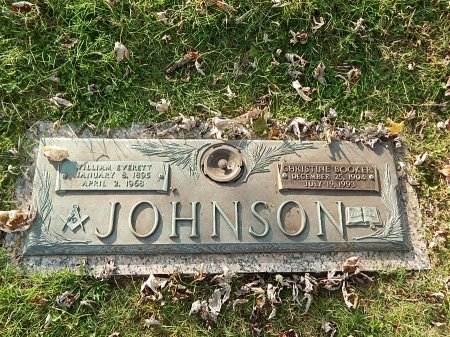 JOHNSON, CHRISTINE - Anderson County, Tennessee | CHRISTINE JOHNSON - Tennessee Gravestone Photos