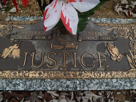 JUSTICE, CHARLES R - Anderson County, Tennessee | CHARLES R JUSTICE - Tennessee Gravestone Photos