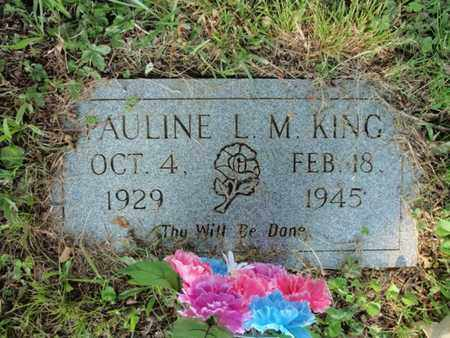 KING, PAULINE LILLY MAE - Anderson County, Tennessee | PAULINE LILLY MAE KING - Tennessee Gravestone Photos