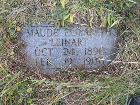 LEINART, MAUDE ELIZABETH - Anderson County, Tennessee   MAUDE ELIZABETH LEINART - Tennessee Gravestone Photos