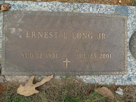 LONG JR, ERNEST L - Anderson County, Tennessee | ERNEST L LONG JR - Tennessee Gravestone Photos