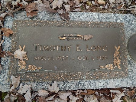 LONG, TIMOTHY E - Anderson County, Tennessee | TIMOTHY E LONG - Tennessee Gravestone Photos