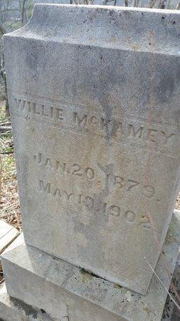 MCKAMEY, WILLIE - Anderson County, Tennessee | WILLIE MCKAMEY - Tennessee Gravestone Photos