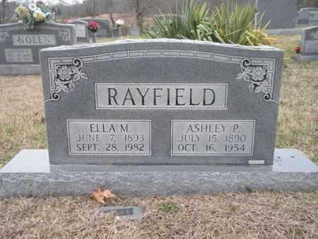 RAYFIELD, ELLA M - Anderson County, Tennessee | ELLA M RAYFIELD - Tennessee Gravestone Photos