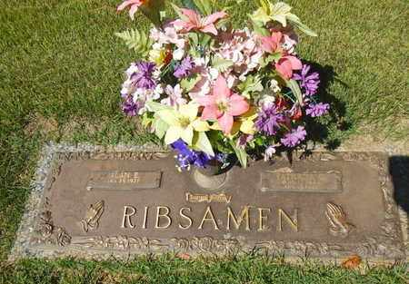 RIBSAMEN, GLADYS PATRICIA - Anderson County, Tennessee | GLADYS PATRICIA RIBSAMEN - Tennessee Gravestone Photos