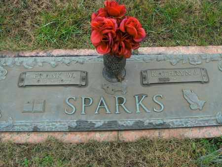 SPARKS, FRANK W - Anderson County, Tennessee | FRANK W SPARKS - Tennessee Gravestone Photos