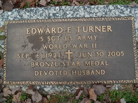 TURNER (VETERAN WWII), EDWARD E   - Anderson County, Tennessee | EDWARD E   TURNER (VETERAN WWII) - Tennessee Gravestone Photos