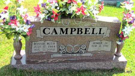 CAMPBELL, BONNIE RUTH - Benton County, Tennessee | BONNIE RUTH CAMPBELL - Tennessee Gravestone Photos
