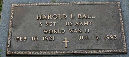 BALL (VETERAN WWII), HAROLD - Bledsoe County, Tennessee | HAROLD BALL (VETERAN WWII) - Tennessee Gravestone Photos
