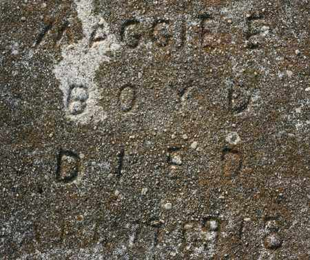 DAVENPORT BOYD, MAGGIE ELLEN - Bledsoe County, Tennessee   MAGGIE ELLEN DAVENPORT BOYD - Tennessee Gravestone Photos