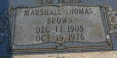 BROWN, MARSHALL THOMAS - Bledsoe County, Tennessee | MARSHALL THOMAS BROWN - Tennessee Gravestone Photos