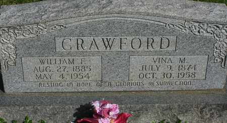 CRAWFORD, VINA M. - Bledsoe County, Tennessee   VINA M. CRAWFORD - Tennessee Gravestone Photos