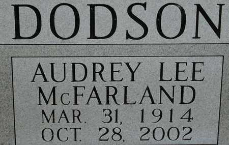 DODSON, AUDREY LEE - Bledsoe County, Tennessee | AUDREY LEE DODSON - Tennessee Gravestone Photos
