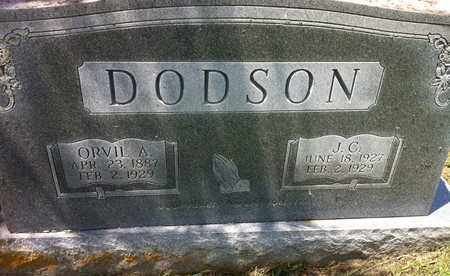 DODSON, ORVIL A. - Bledsoe County, Tennessee | ORVIL A. DODSON - Tennessee Gravestone Photos