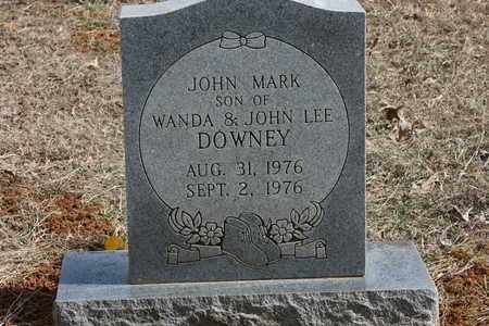 DOWNEY, JOHN MARK - Bledsoe County, Tennessee   JOHN MARK DOWNEY - Tennessee Gravestone Photos