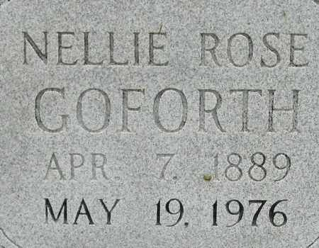 GOFORTH, NELLIE ROSE - Bledsoe County, Tennessee | NELLIE ROSE GOFORTH - Tennessee Gravestone Photos