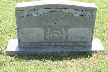 GREER, CREEDA - Bledsoe County, Tennessee | CREEDA GREER - Tennessee Gravestone Photos
