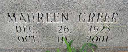 GREER, MAUREEN - Bledsoe County, Tennessee | MAUREEN GREER - Tennessee Gravestone Photos