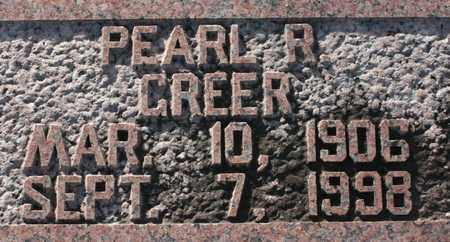 GREER, PEARL R. - Bledsoe County, Tennessee | PEARL R. GREER - Tennessee Gravestone Photos