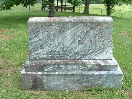 HALE, ELIZABETH SUSAN LITTLLE - Bledsoe County, Tennessee | ELIZABETH SUSAN LITTLLE HALE - Tennessee Gravestone Photos