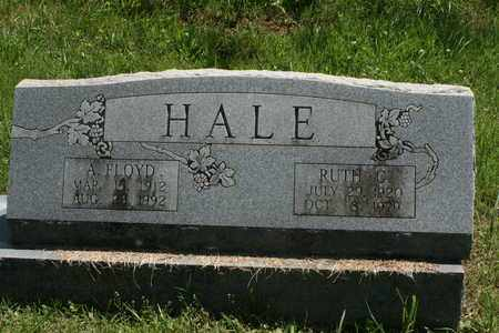 HALE, A. FLOYD - Bledsoe County, Tennessee | A. FLOYD HALE - Tennessee Gravestone Photos