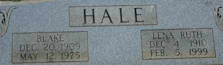 HALE, LENA RUTH - Bledsoe County, Tennessee | LENA RUTH HALE - Tennessee Gravestone Photos